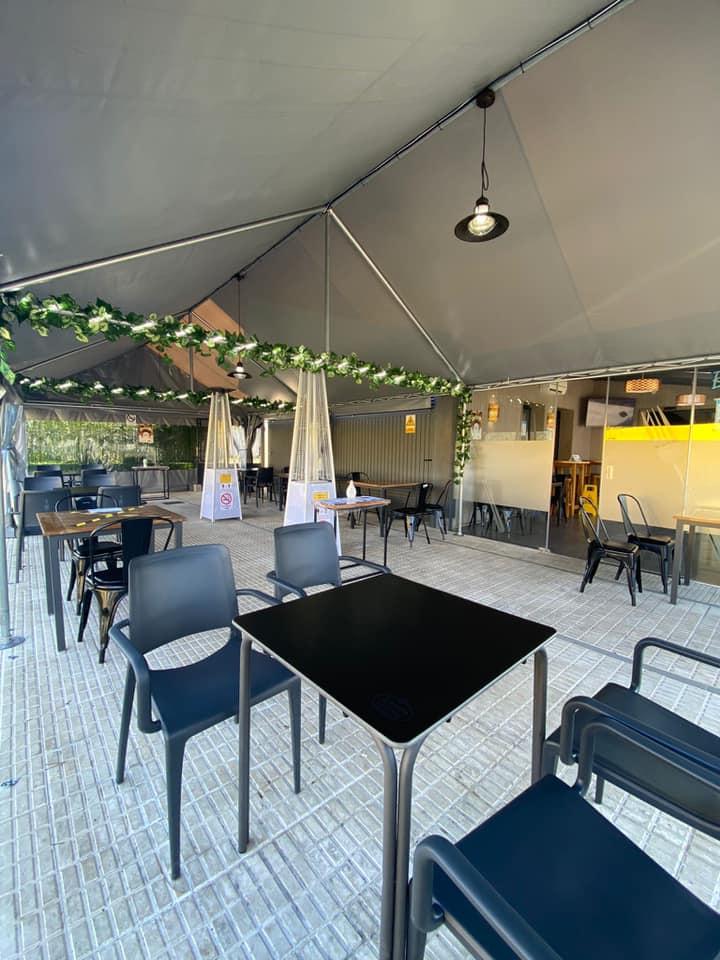 Imaxe terraza restaurante